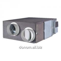 Ventilation installation, cooling