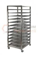 Stainless steel trolleys