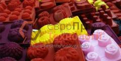 Formy silikonowe cukiernicze