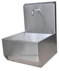 Contactless one-position sink