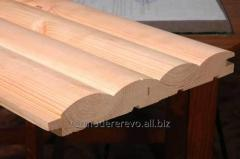 Block houses (beech, ash-tree, white maple, pine,
