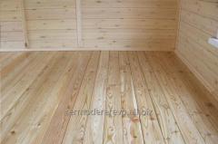 Terrace, deck, floorboard