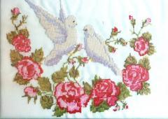 Rushnyk embroidered