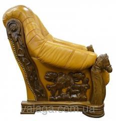 Кожаная мебель Oskar антикварний диван