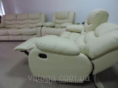 Кожаная мебель recliner релакс