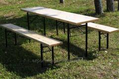 Комплект мебели ДЕСАНТ садово-парковый