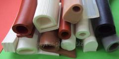 Products made of silicone rubber