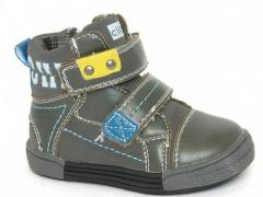 Ботинки детские Clibee:P-22 серый.