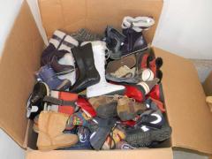 Footwear children's winter of BK, second-hand