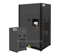 Industrial compressed air dryer