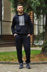 The Tolstoyan from knitted fabric with an