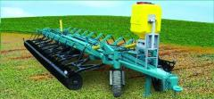 Hoeing plow disk capture 8,0m LD-8 Agromash