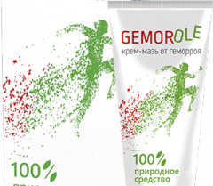Gemorole (Gemorole) - cream from hemorrhoids.