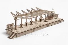 Mechanical wooden designer, 3D puzzle of Ugears