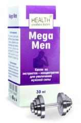 Капли Mega Men Мега Мен для потенции