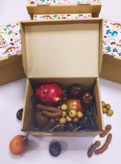 Коробка с экзотическими фруктами CrazyBox Standart