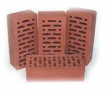 The brick is ceramic fron