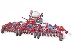 Seeder pneumatic one-disk ORION 9,6; The zirka Is