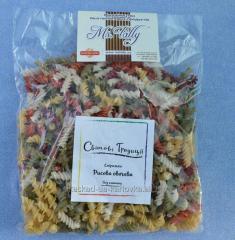 Gluten-free pasta made from rice flour Fusilli