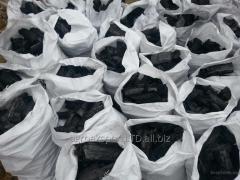 Въглища в чували, дървени въглища в големи разфасовки