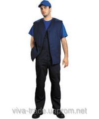 Vest worker wadded