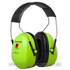 Optime II earphones with standard bridle alarm