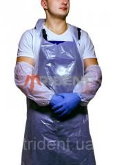 The apron is polyethylene