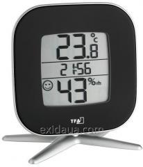 "Термогигрометр цифровой TFA ""Tivi"", чёрный, 30503001"