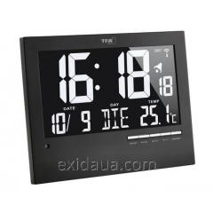 Часы настенные TFA цифровые с автоматическим подсвечиванием, 604508