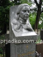 Bust of bronze