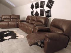 Кожаная мебель reclainer. реклайнер, диван