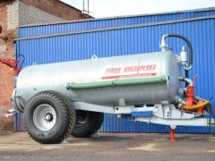 The tank for water and the liquid organic VNTs-10 fertilizers, Kobzarenk's Plan