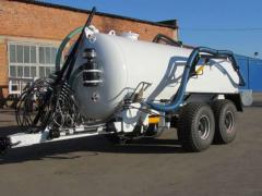 The tank for water and the liquid organic VNTs-16 fertilizers, Kobzarenk's Plan
