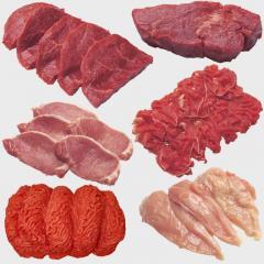 Закупка мяса птицы, свинины, говядины, индюшатины,