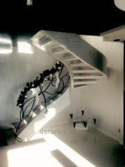 Мраморная лестница, гранитная лестница, мраморные