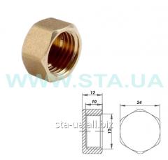 Caps (caps) brass 15 mm female thread