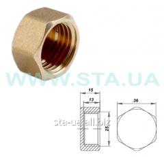 Cap (cap) of brass 25 mm female thread