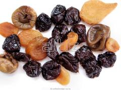 Cut dried fruits from the producer. Delivery