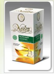 Nonfermented tea of NADINE, NADIN TM Green Sencha