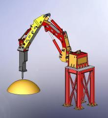 Cranes for steel works