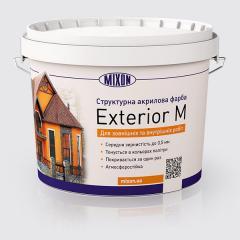 Структурная фасадная краска Mixon Exterior M, 15