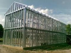 Construction profile ESTWD (easy steel thin-walled