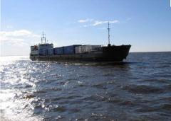 Морская самоходная баржа