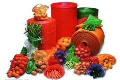 Сетка упаковочная для овощей и фруктов оптом,