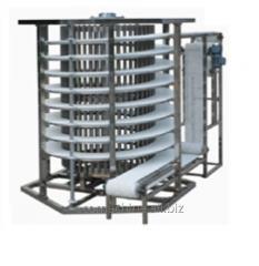 Спіральні конвеєрні системи охолодження