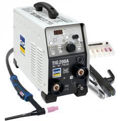 Argonodugovy welding of GYS TIG of 200 DC HF FV,