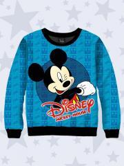Свитшот для для мальчика (водолазка, джемпер, свитер, реглан) из двухслойного трикотажа Микки Маус 7545