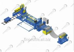 Lines for the production of roll materials,