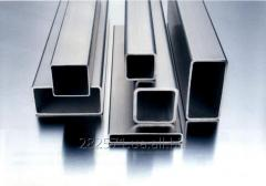 Aluminum pipe rectangular