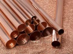 Copper pipe round